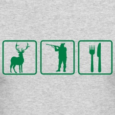 HUNTING FOR FOOD Long Sleeve Shirts