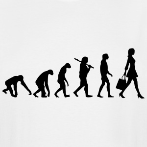 WOMAN EVOLUTION T-Shirts - Men's Tall T-Shirt