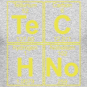 TECHNO PERIODIC TABLE Long Sleeve Shirts - Men's Long Sleeve T-Shirt by Next Level