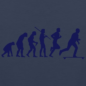 SKATEBOARD EVOLUTION Tank Tops - Men's Premium Tank