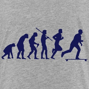 SKATEBOARD EVOLUTION Baby & Toddler Shirts - Toddler Premium T-Shirt