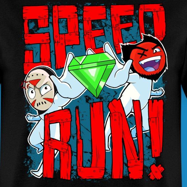 """Men's """"Speed Run!"""" Tee"""