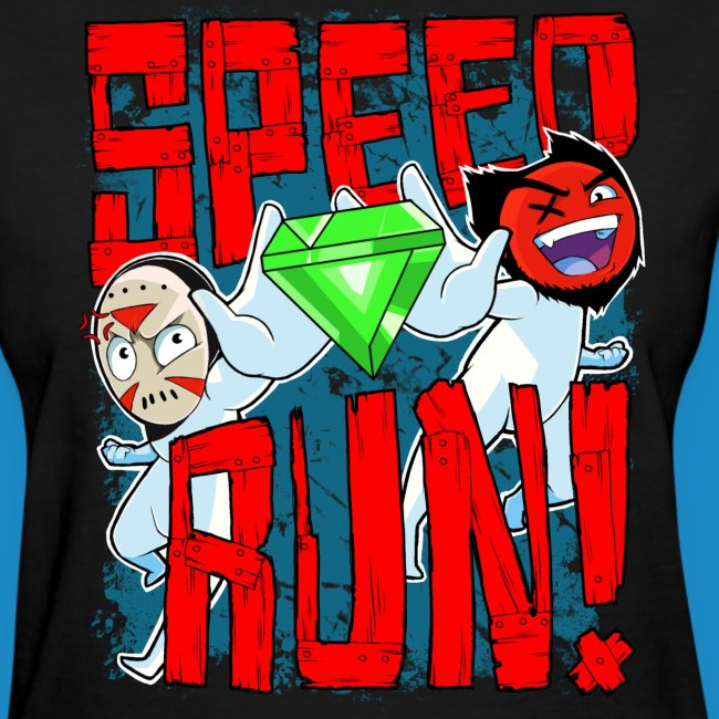 "Women's ""Speed Run!"" Tee"