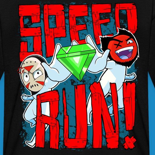 """Kids's """"Speed Run!"""" Tee"""
