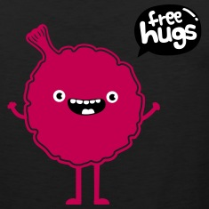 Funny & Cute Whoopee Cushion - Free Hugs Tank Tops