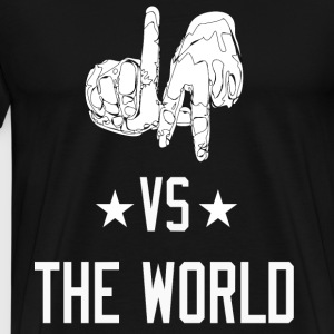 L.A. vs. The World - Men's Premium T-Shirt