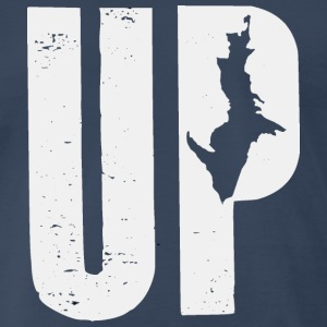 UP MI T-Shirts - Men's Premium T-Shirt