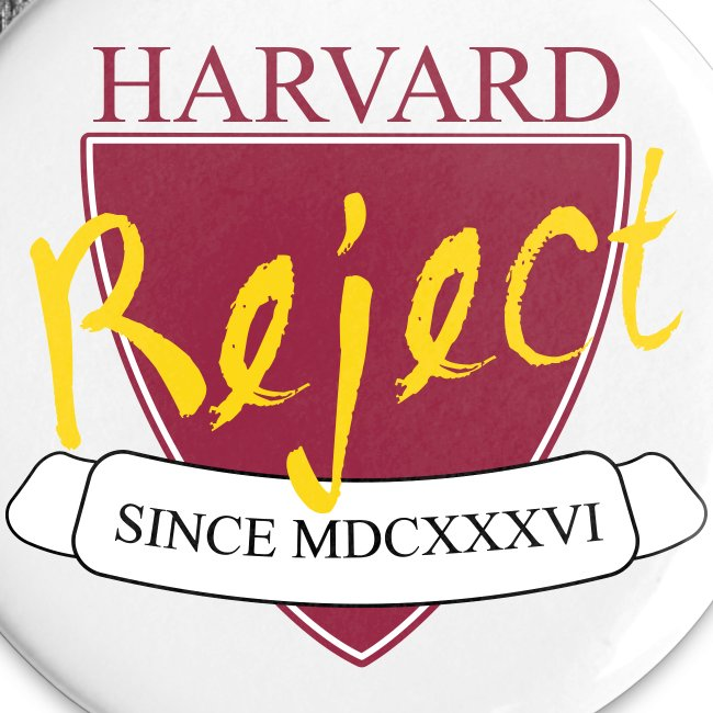Harvard Reject Button