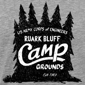Ruark Bluff Camp Grounds - Men's Premium T-Shirt