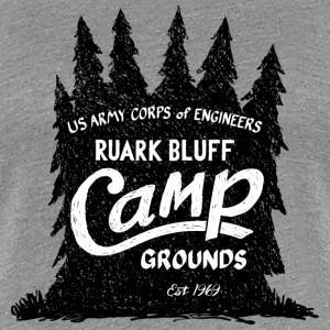 Ruark Bluff Camp Grounds - Women's Premium T-Shirt