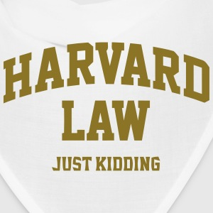 Harvard Law (Just Kidding) Caps - Bandana