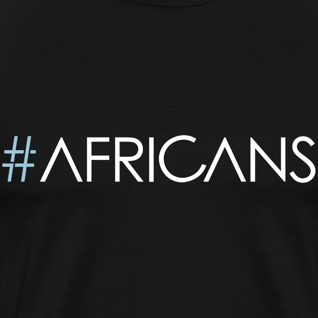 #AFRICANS - Male - Black Tee