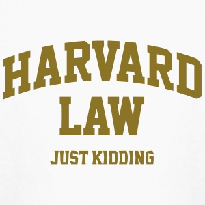 Harvard Law (Just Kidding) Kids' Shirts - Kids' Long Sleeve T-Shirt
