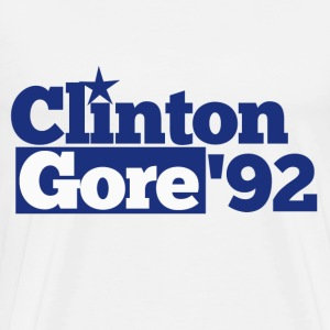 Clinton Gore Democrat 1992 - Men's Premium T-Shirt