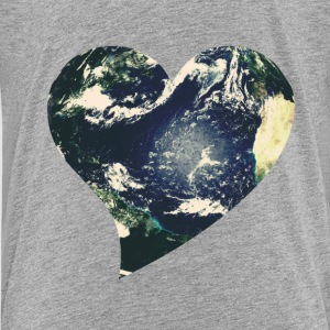 Earth love for Earth Day - Kids' Premium T-Shirt