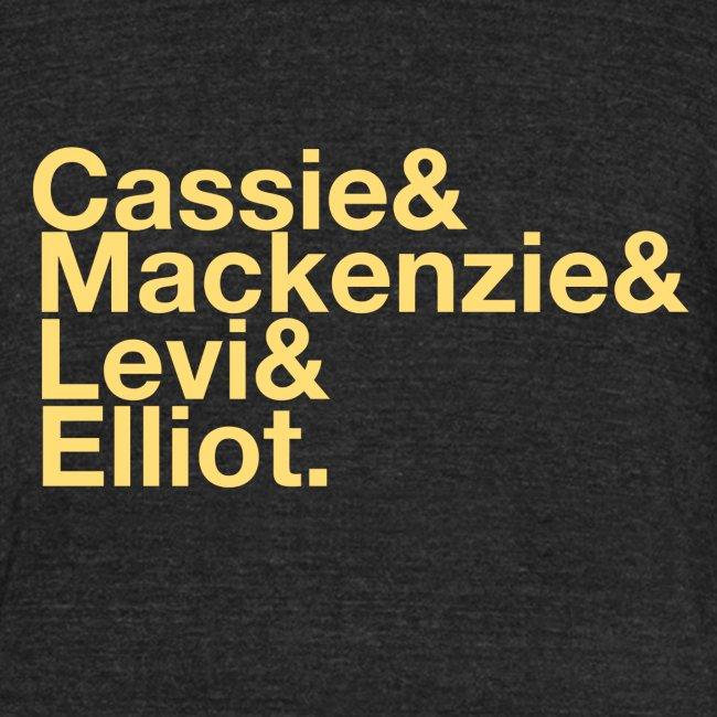 Character List Shirt