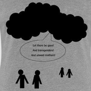 And God Said... Women's T-Shirts - Women's Premium T-Shirt