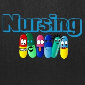 Nursing Happy Pills, Tote Bag - Tote Bag