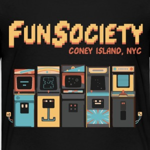 Mr.Robot.tv | Fsociety | 80s Style  - Toddler Premium T-Shirt