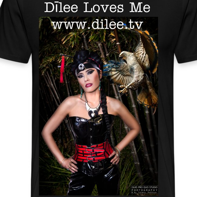 Dīlee loves me red and black