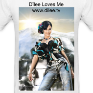 Design ~ Dīlee loves me silver blue