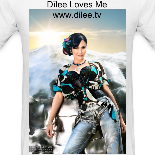 Dīlee loves me silver blue