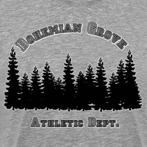 Bohemian Grove Athletic Dept (Forest) - Men's Premium T-Shirt