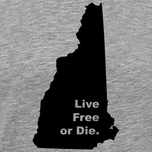 New Hampshire State Motto - Men's Premium T-Shirt