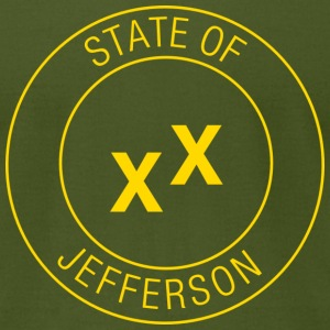 State of Jefferson T-Shirts - Men's T-Shirt by American Apparel