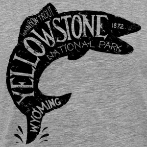 Yellowstone Fishing T-Shirts - Men's Premium T-Shirt