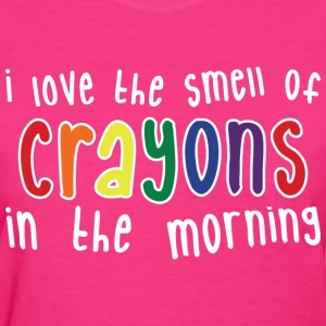 Crayons Womens dark - Women's T-Shirt