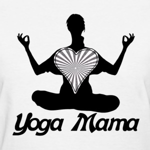 Yoga mama - Women's T-Shirt