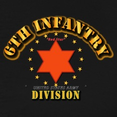 6th Infantry Division -  Red Star T-Shirts