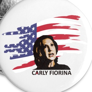 Carly Fiorina President Buttons - Large Buttons