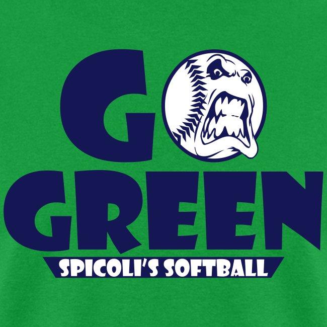 Spicoli's Softball Go Green (Green)