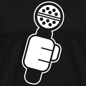 Microphone Check T-Shirts - Men's Premium T-Shirt
