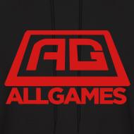 Design ~ AllGames Men's Hoodie