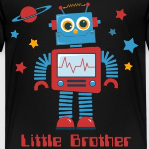 Robot Little Brother II Baby & Toddler Shirts - Toddler Premium T-Shirt
