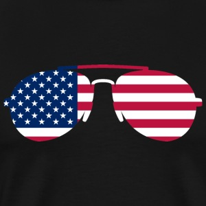 Sunglasses USA T-Shirts - Men's Premium T-Shirt