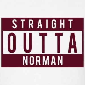 Straight Outta Norman T-Shirts - Men's T-Shirt