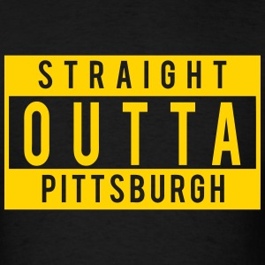 Straight Outta Pittsburgh T-Shirts - Men's T-Shirt