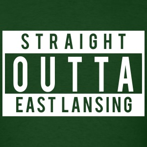 Straight Outta East Lansing T-Shirts - Men's T-Shirt