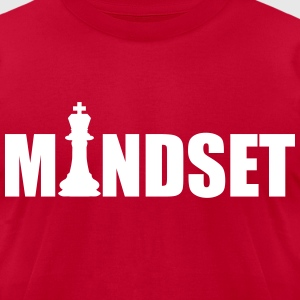 MINDSET KING - Men's T-Shirt by American Apparel