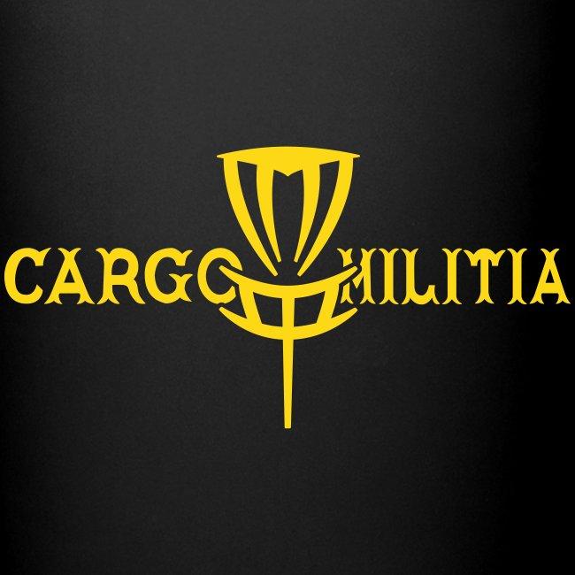 Cargo Militia Disc Golf Coffee/Tea Mug (Black)