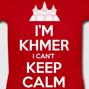 i'm Khmer I Can't Keep Calm Baby & Toddler Shirts - Short Sleeve Baby Bodysuit
