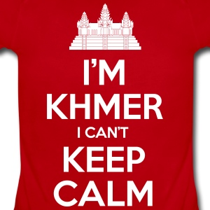i'm Khmer I Can't Keep Calm Baby & Toddler Shirts - Baby Short Sleeve One Piece