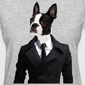Women's Savvy Boston Terrier Shirt - Women's T-Shirt