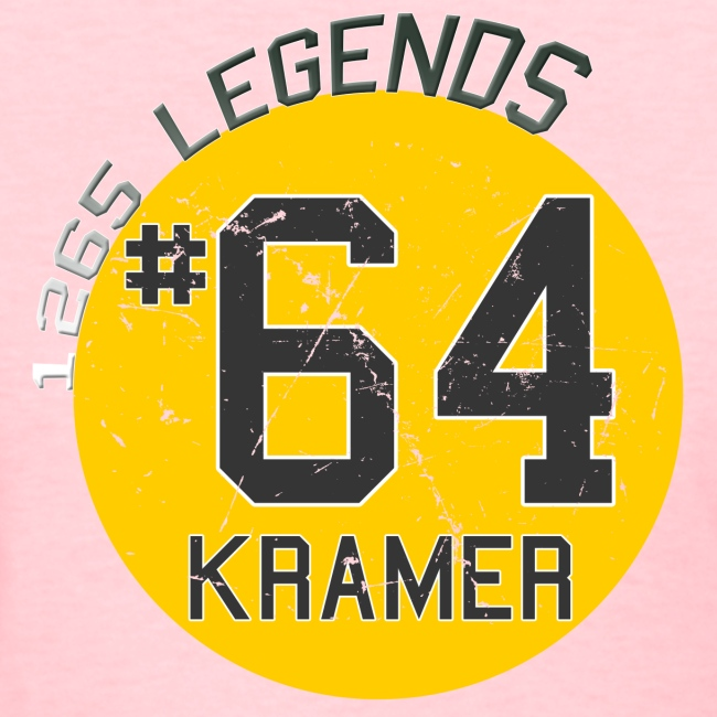 1265 Legends #64 Jerry Kramer Ladies T Shirt