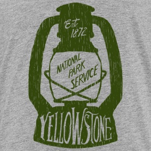 Yellowstone Camping - Kids' Premium T-Shirt