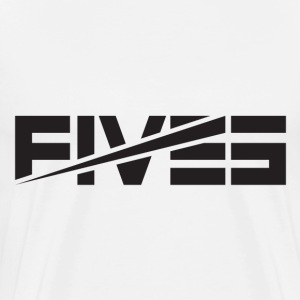 FIVES Black-Out - Men's Premium T-Shirt